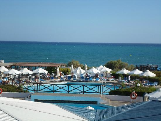 Aldemar Cretan Village : vue du bar!!!