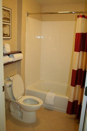 Residence Inn Clearwater Downtown: bagno