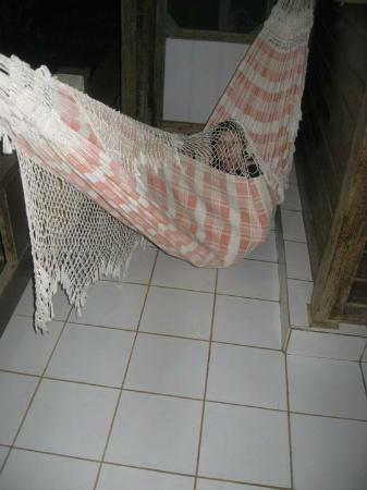 Pousada Leao Marinho: Me in my hammock (rede) outside my room