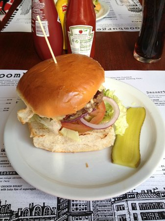 Bloomburger: There's a burger in there somewhere