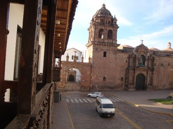 Casa Andina Standard Cusco Plaza: desde el balcon de la habitación 330