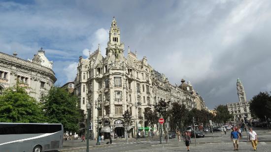 Hotel Universal: architecture impressionante