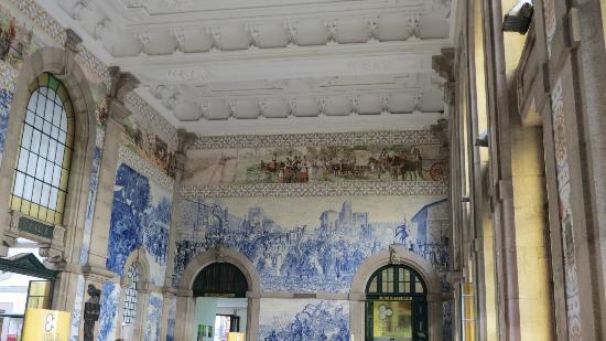 Hotel Universal: l' intérieur de la gare