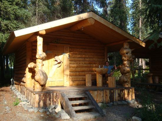 Carlo Creek Lodge: Carlo Creek cabin w/o restroom