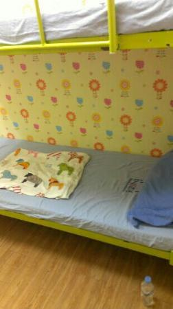 Backpackers Inside: private room with phone bunk bed