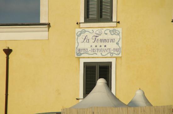 La Tonnara Hotel: Particolare Albergo La Tonnara