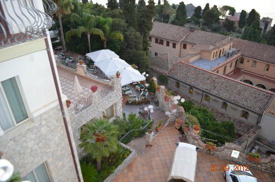 Hotel Ariston: terrase