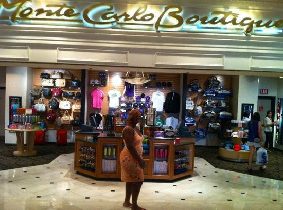 Monte Carlo Resort & Casino: great shopping and eating