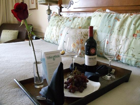 Henderson Park Inn: welcome gift