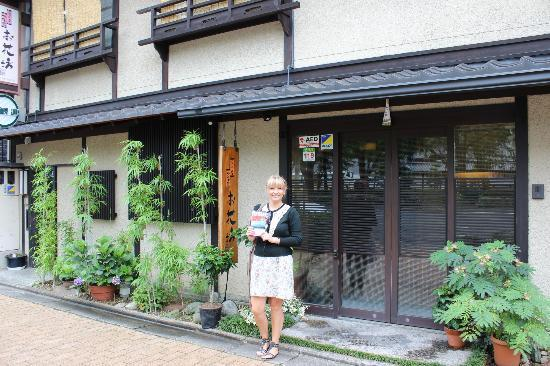 Ohanabo: me outside the ryokan