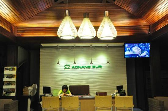 Aonang Buri Resort: Warm Reception