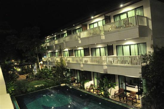 Aonang Buri Resort: View form the top floor