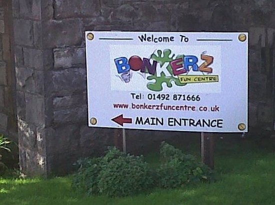 Bonkerz Fun Centre: Bonkerz, Llandudno