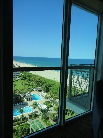 Marriott's Oceana Palms: View from Master