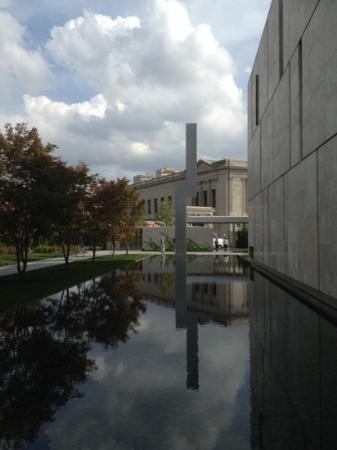 The Barnes Foundation: view