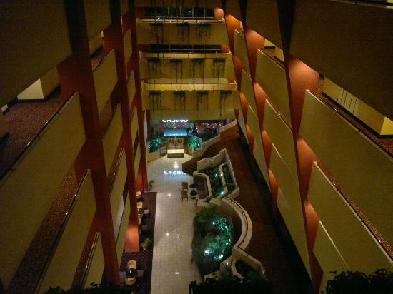 Crowne Plaza Hotel Corobici : Main Hall from 5th floor