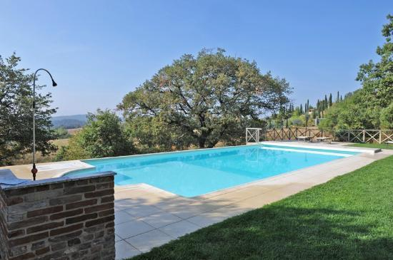 Podere Alberese: Heated pool