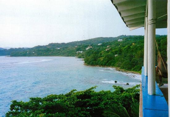 Noel Coward's Blue Harbour: View from Villa Grande