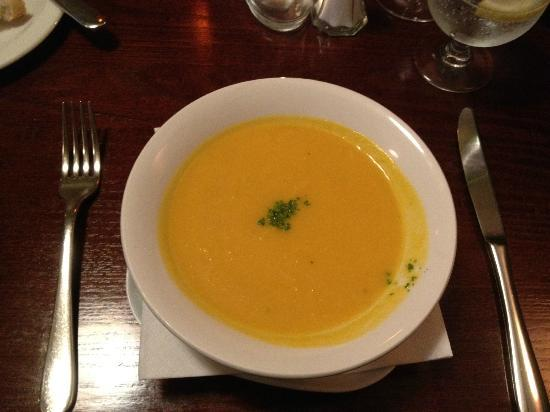Coast Restaurant: Carrot and Coriander Soup