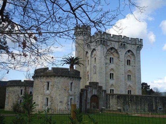 Castillo de Arteaga: le chateau