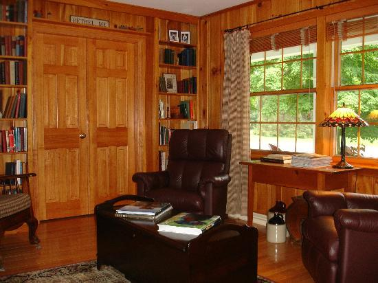 Bethel Hill Bed and Breakfast: Relaxing Leather Reading Chairs