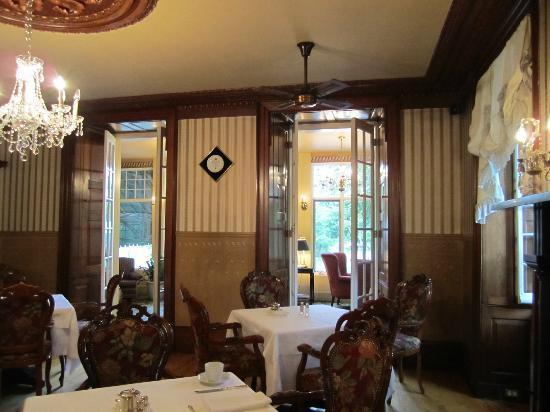 Manoir des Erables : Magnifique salle à manger