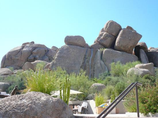 Boulders Resort & Spa, Curio Collection by Hilton: View from main pool