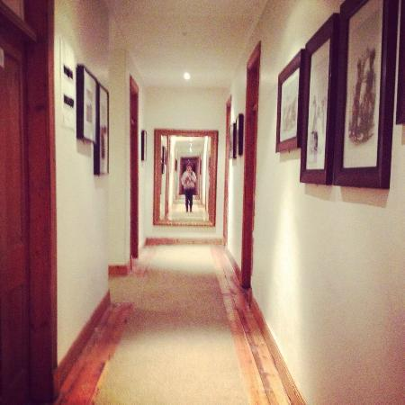 The George Hotel, Eshowe: pasillos