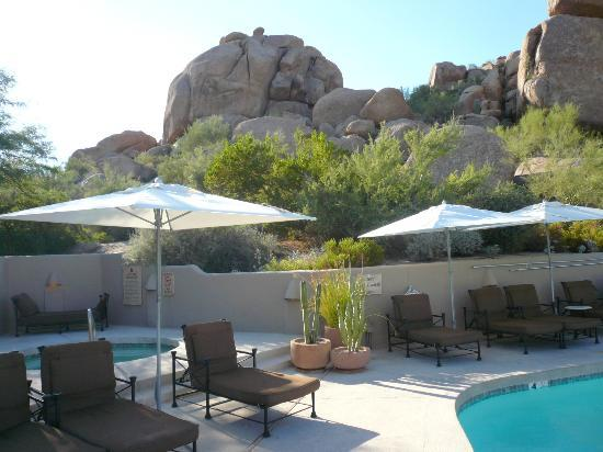 ‪‪Boulders Resort & Spa, Curio Collection by Hilton‬: View from main pool‬