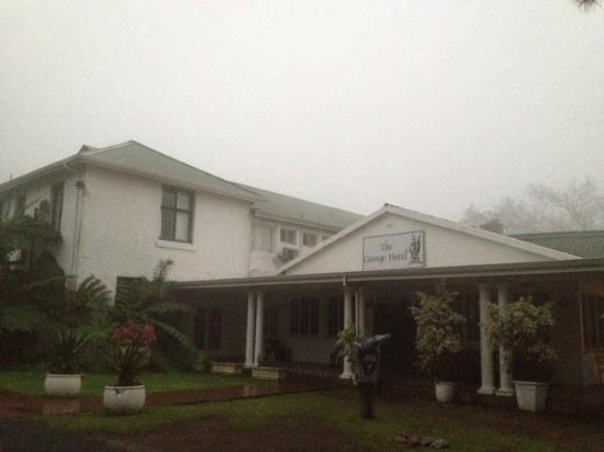 The George Hotel, Eshowe: exterior del hotel