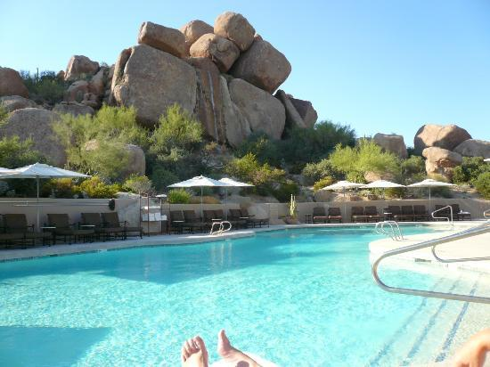 Boulders Resort & Spa, Curio Collection by Hilton: View from Pool