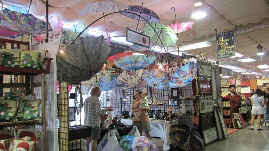 umbrellas galore picture of first monday trade days canton
