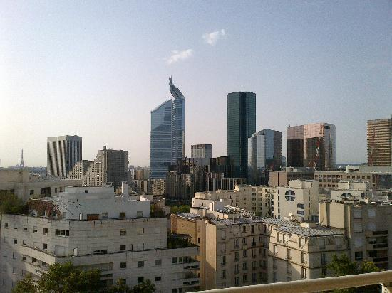 Aparthotel Adagio La Defense Kleber: Vue du balcon