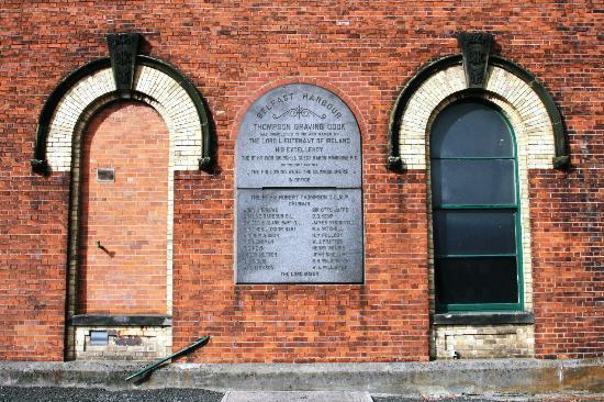 Susie Millar - Titanic Tours Belfast : The pump house