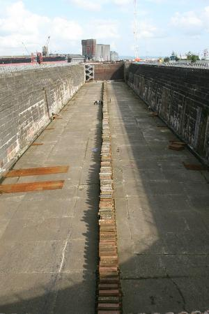 Susie Millar - Titanic Tours Belfast : Largest dry dock in the world, needed for the Titanic !