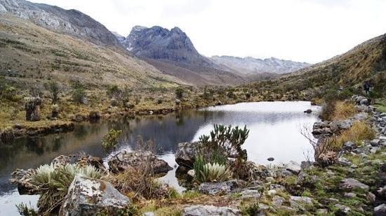 Guican, Colombia: lagunas