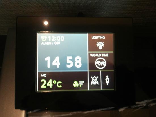 The Okura Prestige Bangkok: High tech temp/alarm controller