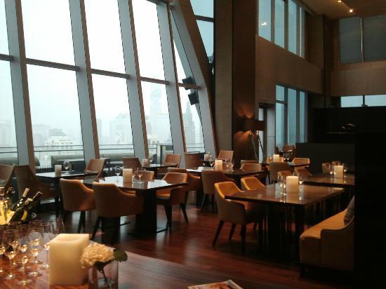 โรงแรมโอกุระ เพรสทีจ กรุงเทพ: Up & Above Restaurant