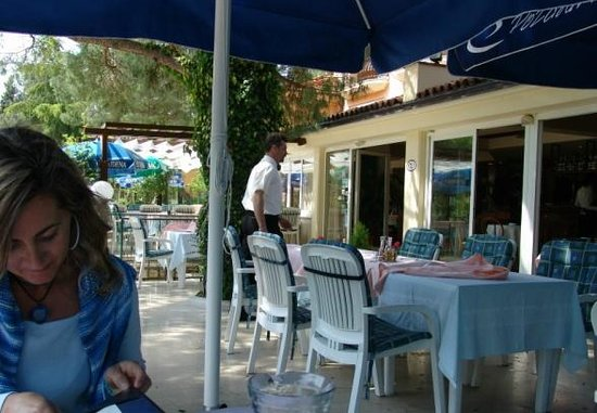 Terrazza del ristorante Viking-Limski kanal,Lovran Croazia ...