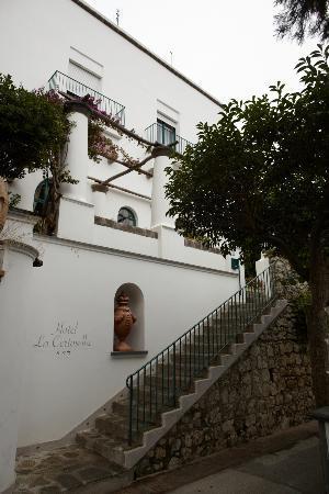 Hotel La Certosella: Ingresso