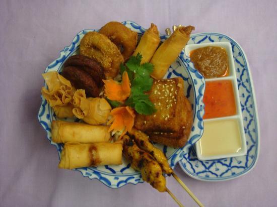 Thai Rice Restaurant: Thai Rice Platter for 2
