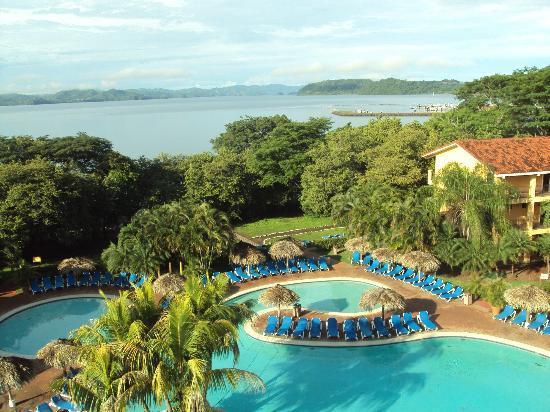 Allegro Papagayo: Vista da torre (observatório) do hotel