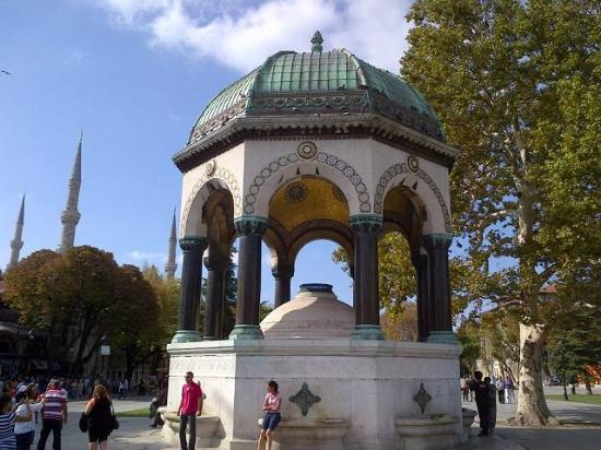 German Fountain - Picture of Fountain of Kaiser Wilhelm II ...