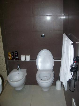 Residence Europa: sdb toilette
