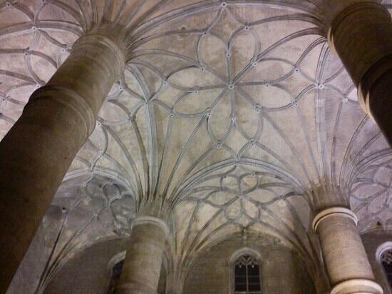 Berlanga de Duero, Ισπανία: bvedas de la colegiata