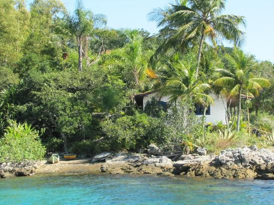 Lagoa Azul: Isla cercana