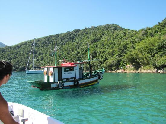 Lagoa Azul: bar flotante