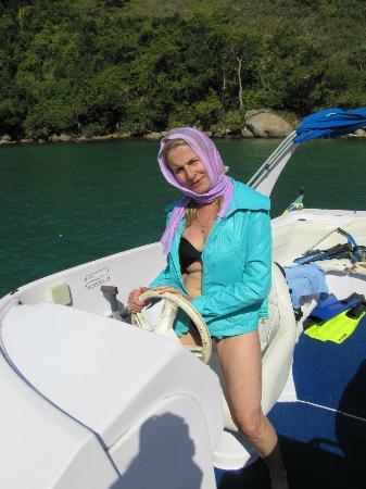 Lagoa Azul: En la lancha