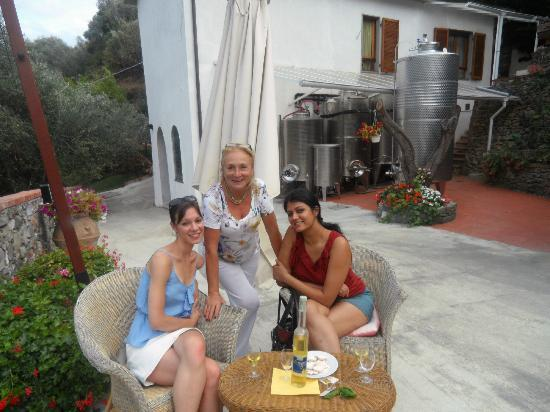 Buranco Agriturismo: One of our lovely hostesses!