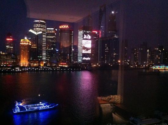Les Suites Orient, Bund Shanghai : Blick aus Fenster